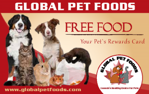 Global Pet Foods Canada Free Food Card